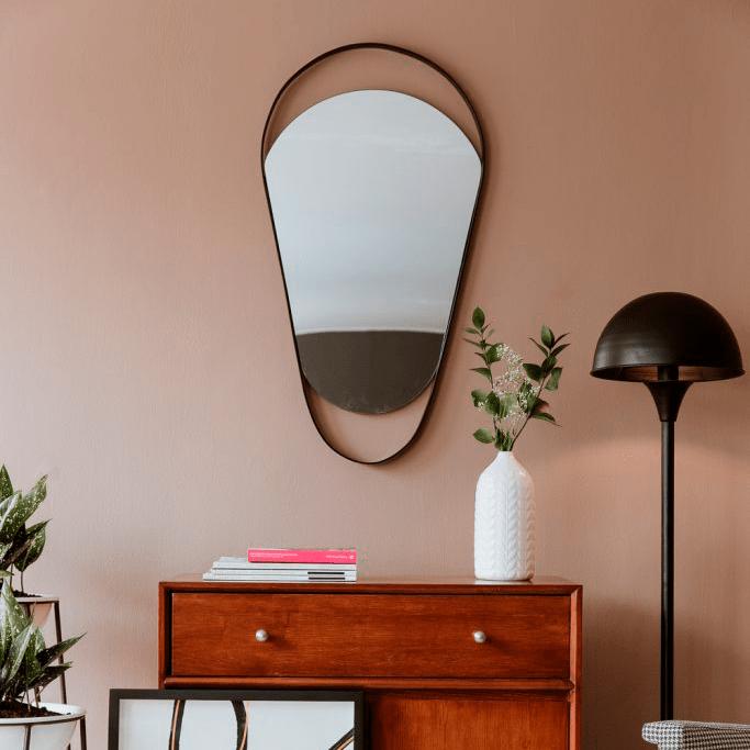 Espejo decorativo ovol ebani decoracion
