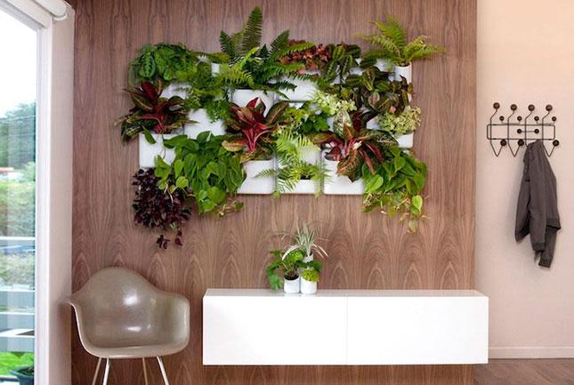 Jardín vertical materas decoraciones ebani colombia decoración. Página para la compra de materas y articulos de jardineria.