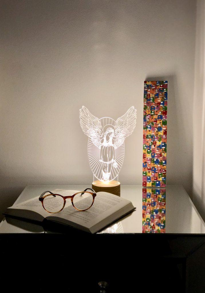 Lámparas modernas angel de luz