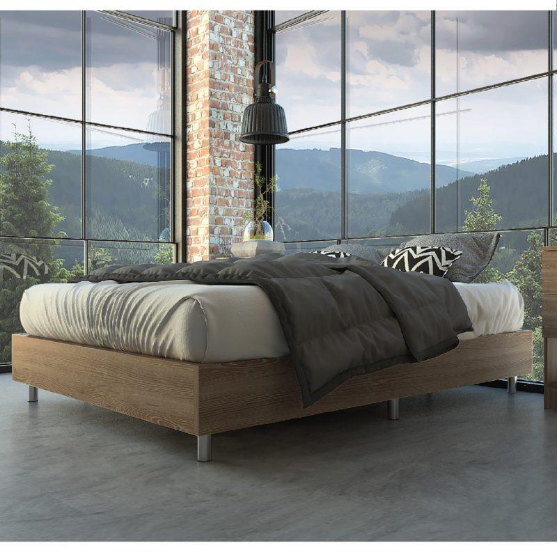Base cama minimalista lugo miel ebani