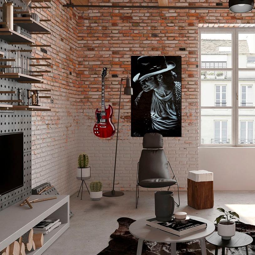 cuadro rey del pop ebani colombia