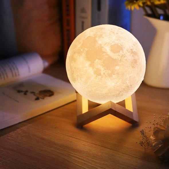 Lamparas modernas Luna