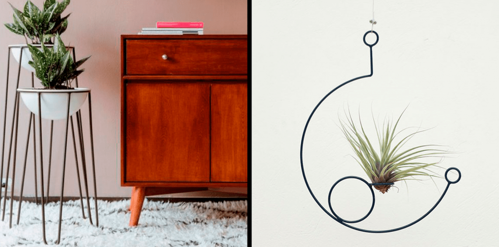 Matera decorativa minimalista para hogar ebani