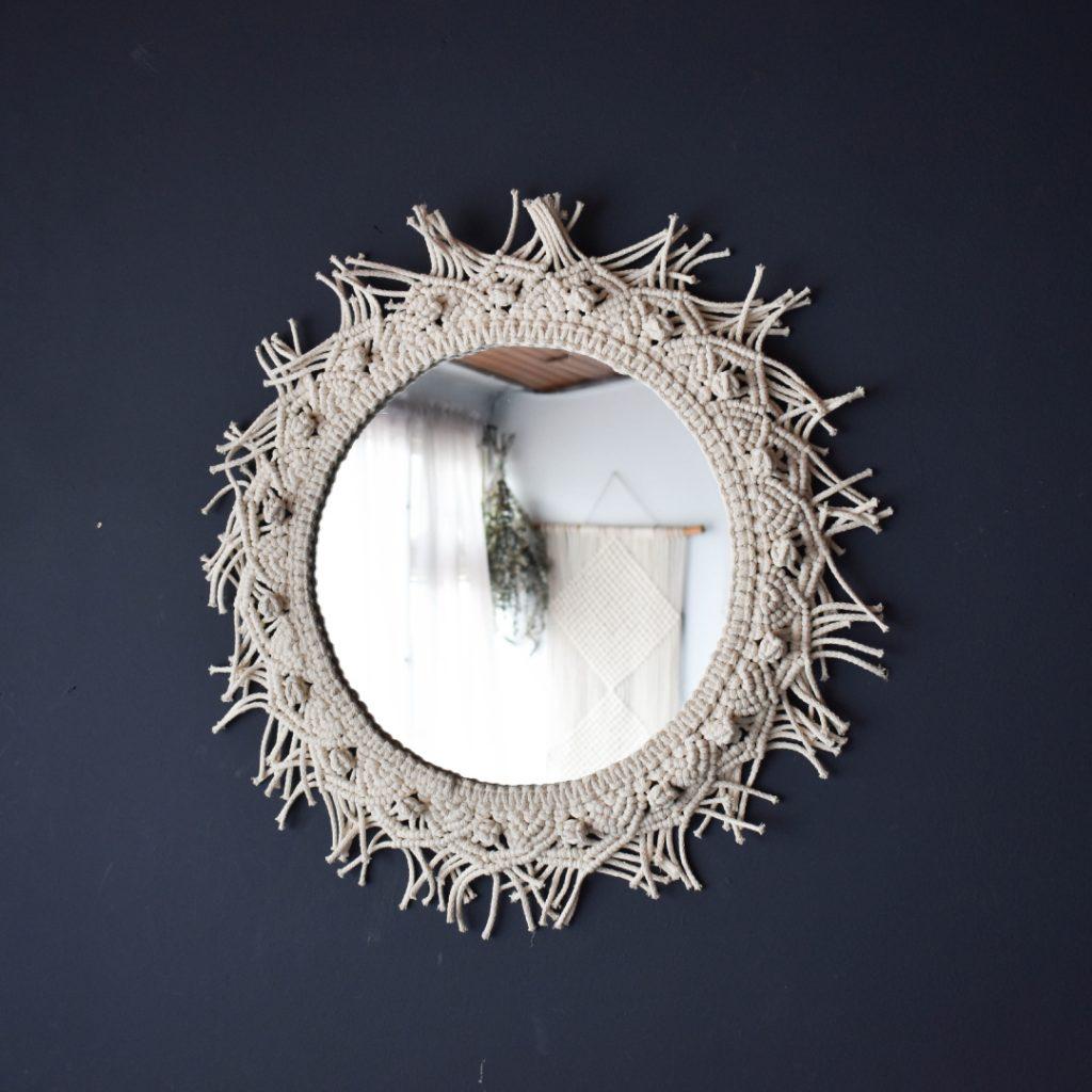 espejos macrame ebani decoración