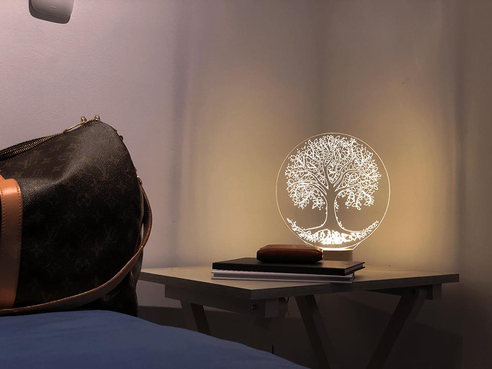 lamparas modernas arbol de la vida