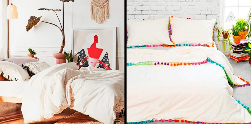 cuartos decorados boho ropa de cama duvet y edredones ebani