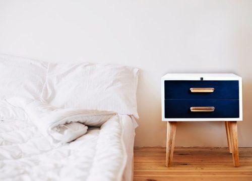 mesita de noche minimalista nordica ebani blog de decoracion